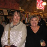 Anna Couani and Linda Godfrey Newtown launch