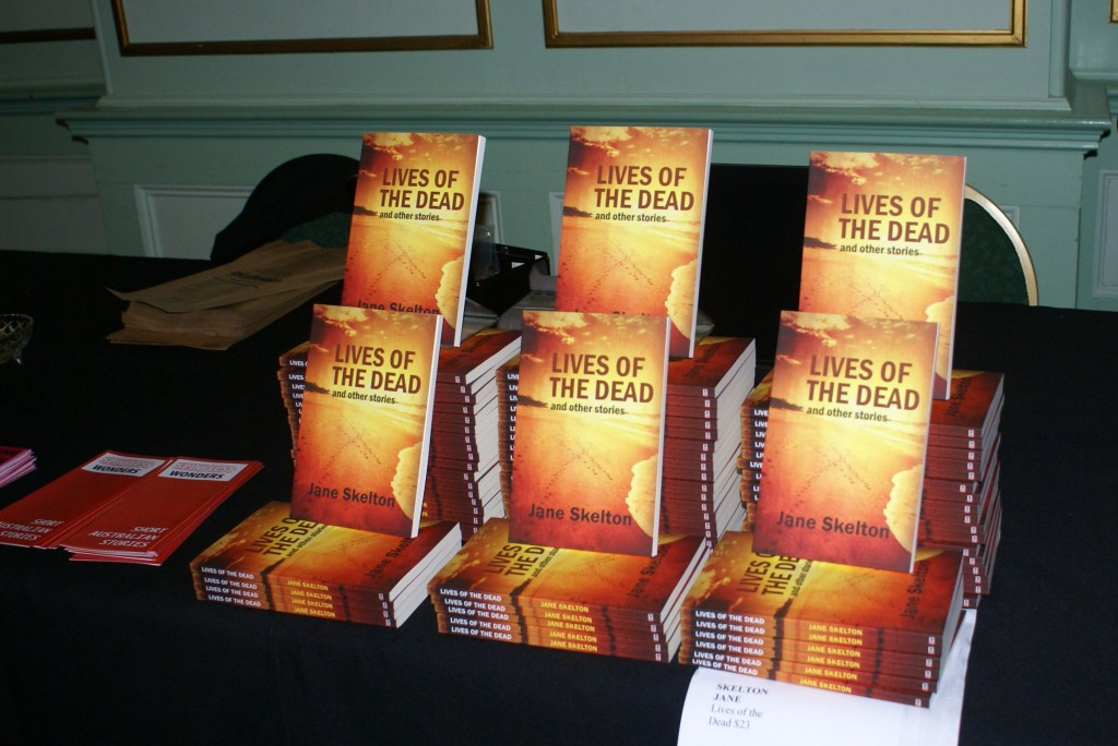 Book display Katoomba launch