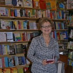 Publisher Bronwyn Mehan, Newtown launch