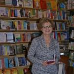 Publisher Bronwyn Mehan, Newtown launch