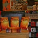 Book display Newtown launch