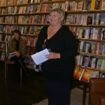 editor Linda Godfrey Newtown launch