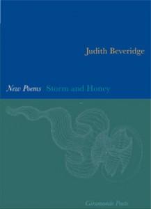 Judith Beveridge Storm and Honey